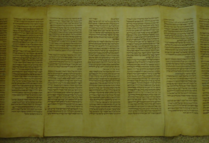 3 panels of parchment