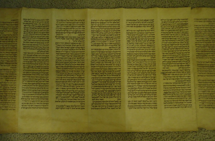 5 panels of parchment
