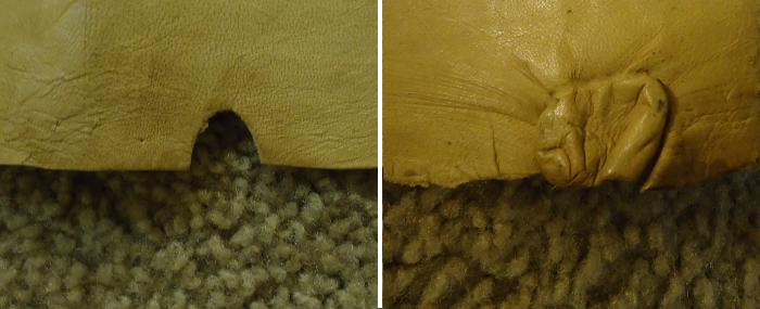 parchment Torah scroll damage